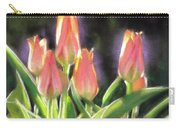 The Queen's Tulips Carry-all Pouch