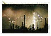 The Quiet Southwest Desert Lightning Storm Carry-all Pouch