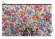 The Rainbow Flowers Carry-all Pouch