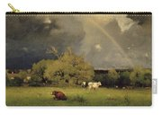 The Rainbow Carry-all Pouch by George Inness Senior
