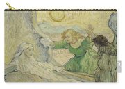 The Raising Of Lazarus After Rembrandt Saint Remy De Provence  May 1890 Vincent Van Gogh 1853  Carry-all Pouch