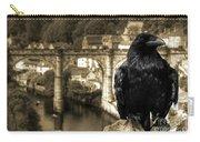The Raven Of Knareborough Castle Carry-all Pouch
