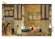 The Reception Carry-all Pouch by John Frederick Lewis