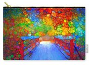 The Red Bridge In Autumn Carry-all Pouch