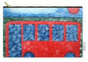 The Red Bus Carry-all Pouch
