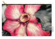 The Red Flower Carry-all Pouch by Darren Cannell