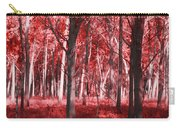 The Red Forest Carry-all Pouch
