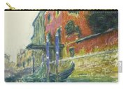 The Red House Carry-all Pouch by Claude Monet