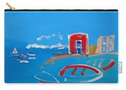 The Red House  La Casa Roja Carry-all Pouch