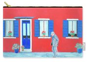 The Red House On The Island Of Burano Carry-all Pouch
