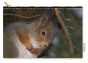 The Red Squirrel 4 Carry-all Pouch