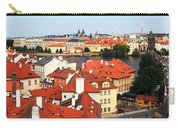 The Red Tile Roofs Of Prague Carry-all Pouch