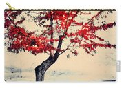 The Red Tree At Okanagan Lake Carry-all Pouch