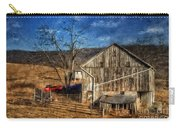 The Red Truck By The Barn Carry-all Pouch