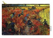 The Red Vineyard At Arles Carry-all Pouch