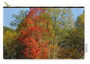 The Reds And Greens Of Autumn Carry-all Pouch