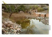 The Reflection By The Bench Carry-all Pouch