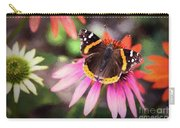 The Regal Red Admiral Carry-all Pouch