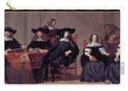 The Regents Of The Old Men And Women Hospital In Amsterdam Carry-all Pouch