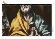 The Repentant Saint Peter Carry-all Pouch