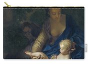 The Rest On The Flight Into Egypt Carry-all Pouch by Adriaan van der Werff