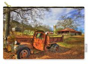 The Resting Place 2 Farm Life 1947 Dodge Dump Truck Art Carry-all Pouch
