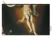 The Resurrection Of Christ Carry-all Pouch by Bartolome Esteban Murillo
