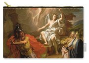 The Resurrection Of Christ Carry-all Pouch by Noel Coypel