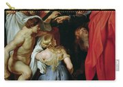 The Resurrection Of Lazarus Carry-all Pouch by Rubens