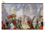 The Return Of Saint Louis Blanche Of Castille To Notre Dame Paris Carry-all Pouch