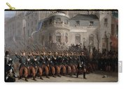 The Return Of The Troops To Paris From The Crimea Carry-all Pouch by Emmanuel Masse