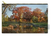 The Rich Autumn Colors In Forest Park. Carry-all Pouch