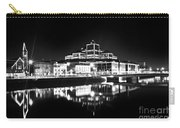 The River Liffey Reflections 2 Bw Carry-all Pouch