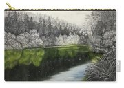 Grayscale The River Carry-all Pouch