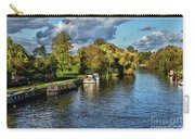 The River Thames At Wallingford Carry-all Pouch