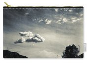 The Road And The Clouds Carry-all Pouch