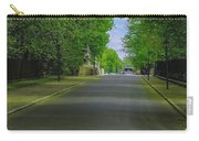 The Road On A Border Of Royal Park Carry-all Pouch