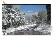 The Road Through Winter Carry-all Pouch
