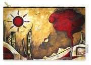 The Road To Life Original Madart Painting Carry-all Pouch