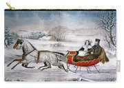 The Road-winter, 1853 Carry-all Pouch