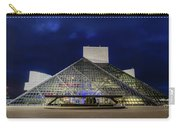 The Rock And Roll Hall Of Fame At Dusk Carry-all Pouch