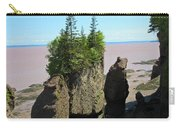 The Rocks At Hopewell Cape Carry-all Pouch