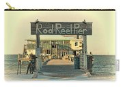 The Rod And Reel Pier Vintage   Carry-all Pouch