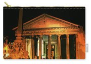 The Roman Pantheon At Night Carry-all Pouch