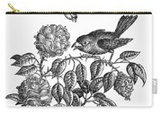 The Roses And The Sparrow Carry-all Pouch