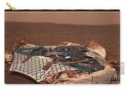 The Rovers Landing Site, The Columbia Carry-all Pouch by Stocktrek Images