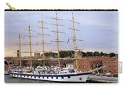 The Royal Clipper Docked In Venice Italy Carry-all Pouch