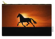 The Running Horse Background Carry-all Pouch