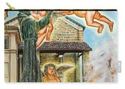 The Saint And The Angels Carry-all Pouch
