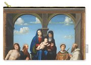 The Saint Anne Altarpiece From San Frediano Lucca Carry-all Pouch